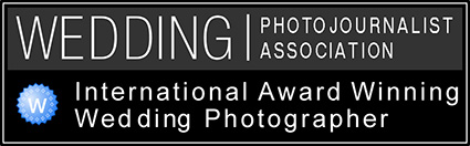 I am an award-winning member of the Wedding Photojournalist Association (WPJA) the world's leading association for Documentary Wedding Photographers and Wedding Photojournalists.