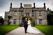 Wedding Photography at Tissington Hall, Derbyshire.