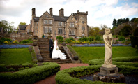 Wedding Photography at Breadsall Priory, Derbyshire.