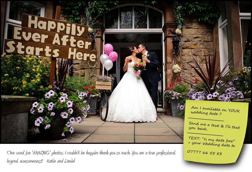 Wedding photographer Nottinghamshire