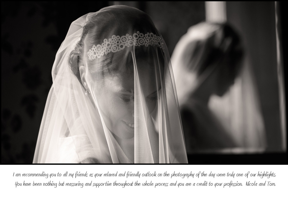 Nottinghamshire Documentary Wedding photography