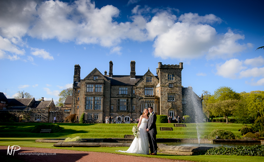 Breadsall Priory wedding photography