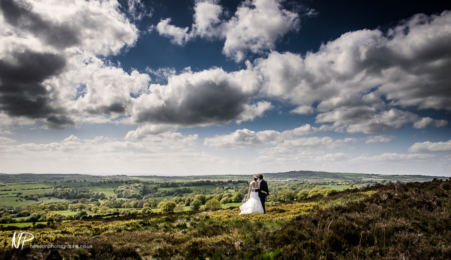 Tom and Sarah's Wedding Photography in Staffordshire.