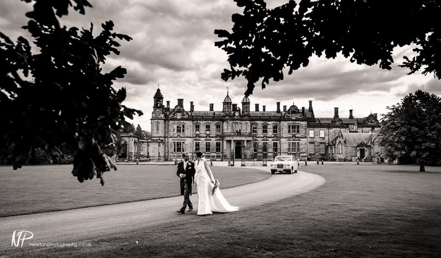 Matthew and Julie's Wedding Photography at Sandon Hall, Staffordshire.