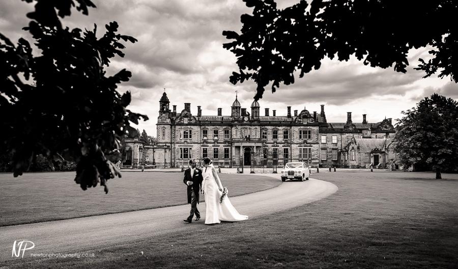 Matthew and Julie's Wedding Photography at Sandon Hall, Staffordshire.