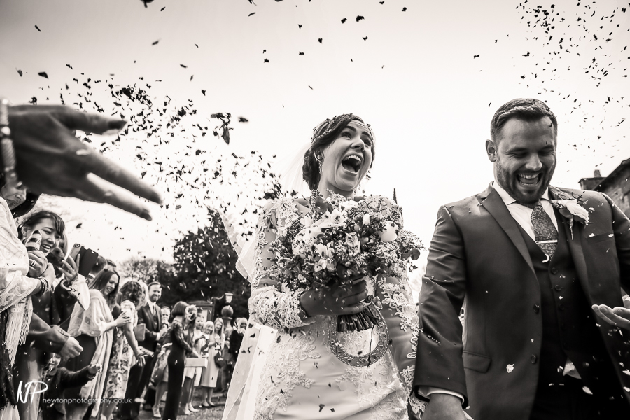 Rich and Sophia's Wedding Story at St Peter's Church Alstonefields and Callow Hall, Derbyshire