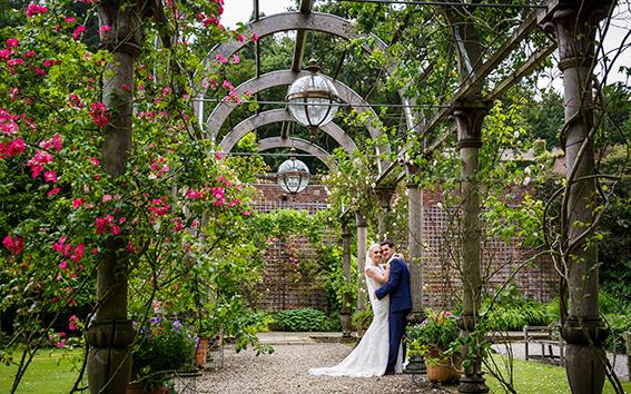 Hassop Hall Wedding Photographer Derbyshire