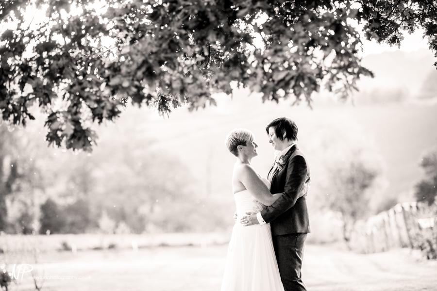 Shottle Hall Gay wedding photography Derbyshire