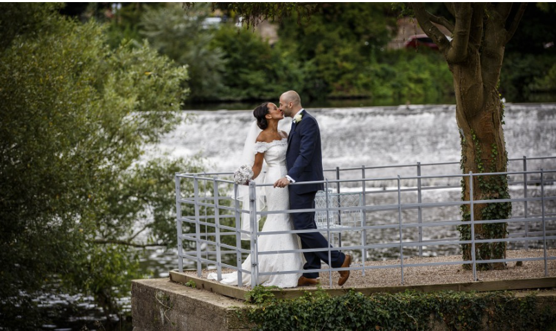 Wedding Photography at The West Mil,l Derby.