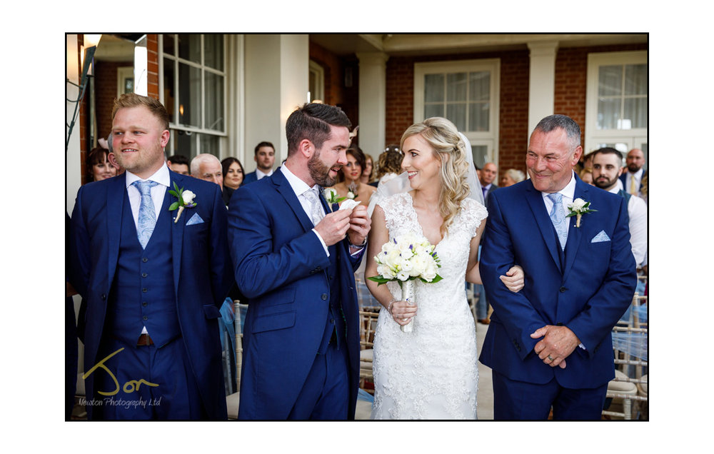 The Dovecliffe Hall Hotel Wedding Photography