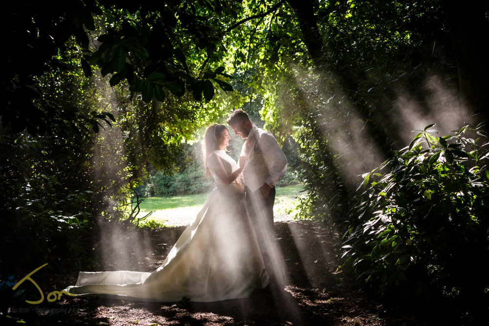 Wedding Photography at The Walled Garden, Nottingham.