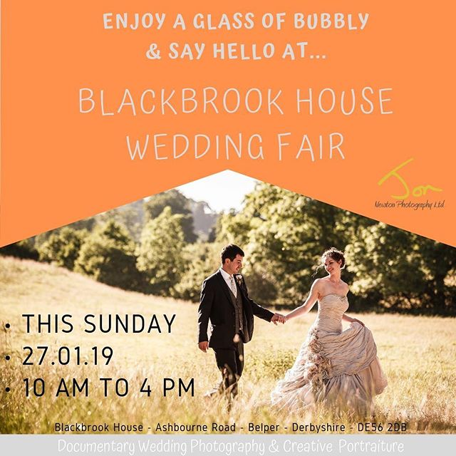 Bubbles and Smiles -Looking forward to meeting lots of new couples @blackbrookhouse wedding fair - THIS SUNDAY - 27.01.19 10am-4pm see you there... #derbyshireweddingphotographer #weddingphotographerderbyshire #wereengaged #weregettingmarried #weddingfair #engaged #derbyshireweddings #blackbrookhouse #freebubbly