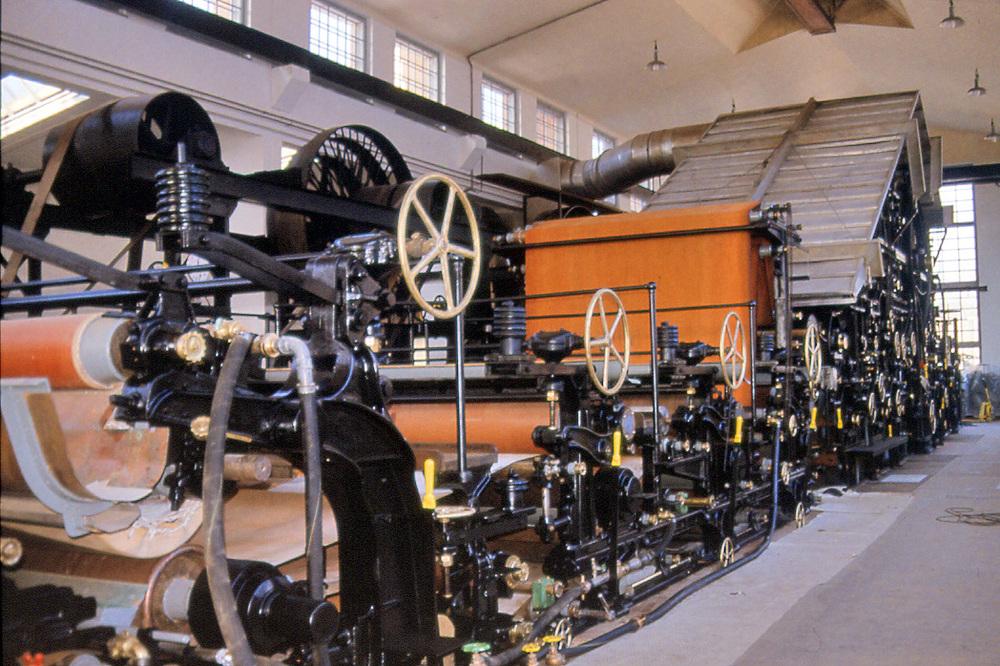 Historische Papiermaschine PM1, Bischofszell