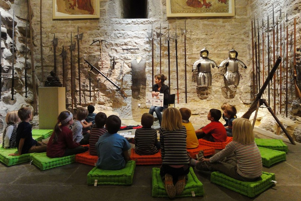 Historisches Museum Thurgau, Schloss Frauenfeld, Waffenraum