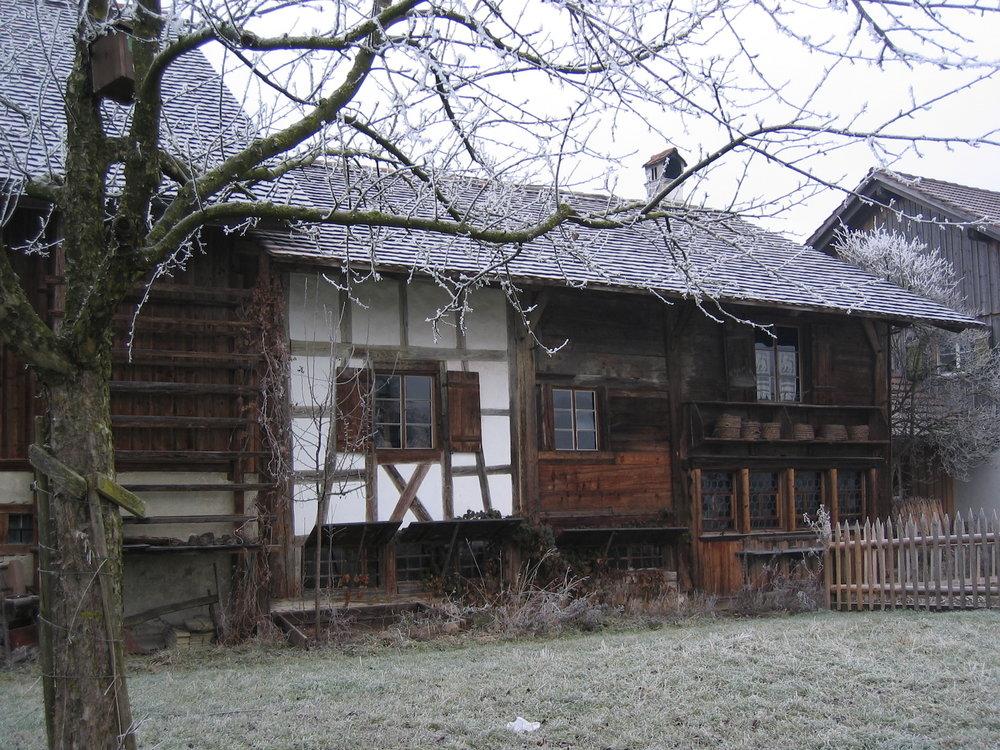 Bohlenständerhaus Schrofen, Amriswil