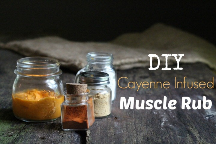 DIY Muscle Rub from  Mommypotamus