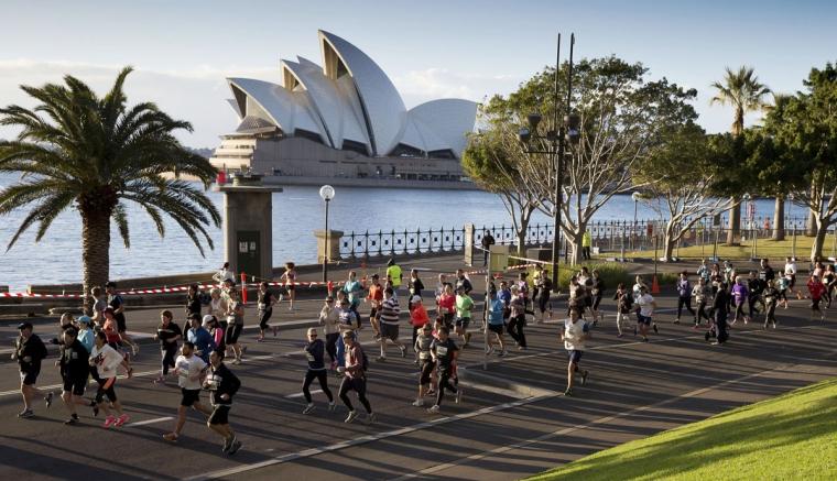 Sydney Harbour 10k, 5k