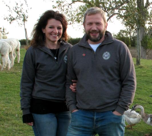 Dan and Briony Wood