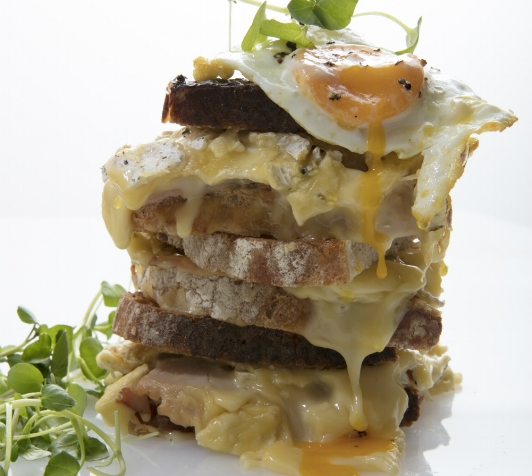 Picture caption: Croque Madame by Cru Events.