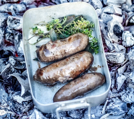 Pipers Farm natural sausage barbecue