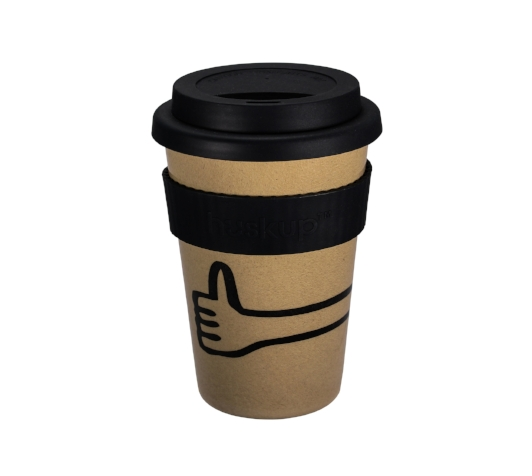 Huskup Thumbs Up Rice Husk Reusable Cup