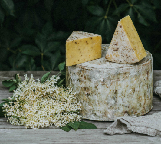 Elderflower cheese