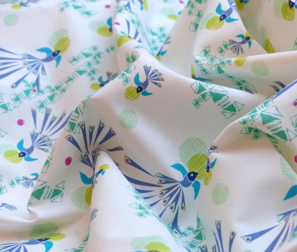 Soaring Free Cotton Fabric