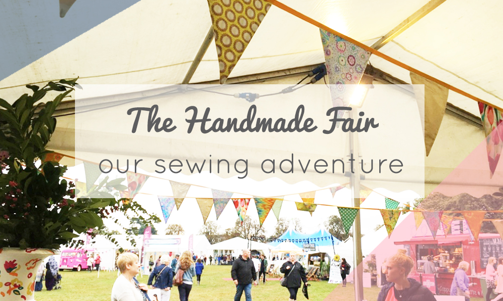 September 2016 - The Foldline Blog - Video of the Handmade Fair including Cloth&Candy interview.