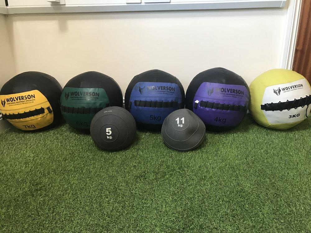 BNAthlete slam balls and medicine balls