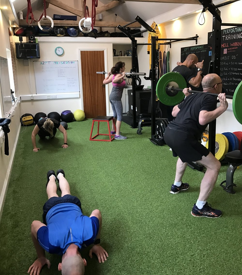 BNAthlete small group personal training
