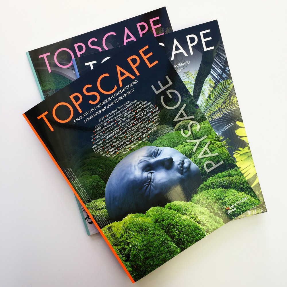 URBAN HAS BEEN INCLUDED IN THE LAST ISSUE OF TOPSCAPE    October 2018, Topscape