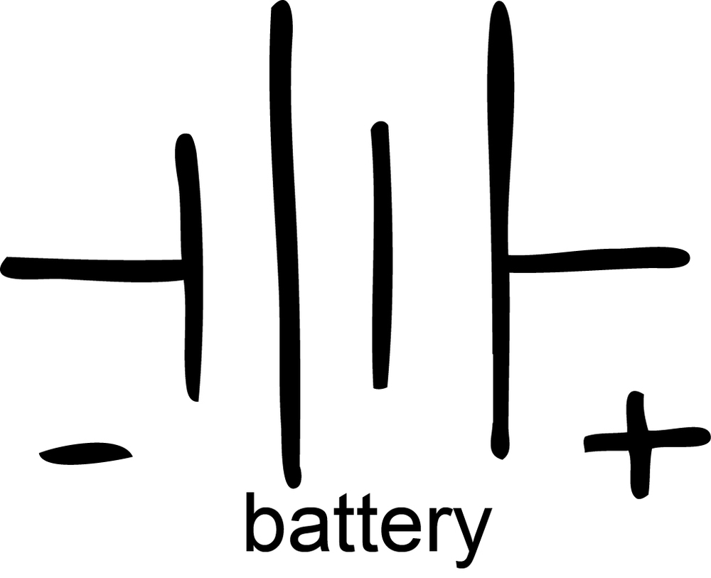 Battery schematic symbol polarity wiring diagram schematic symbols cip learning store earphone schematic symbol battery schematic symbol polarity ccuart Images