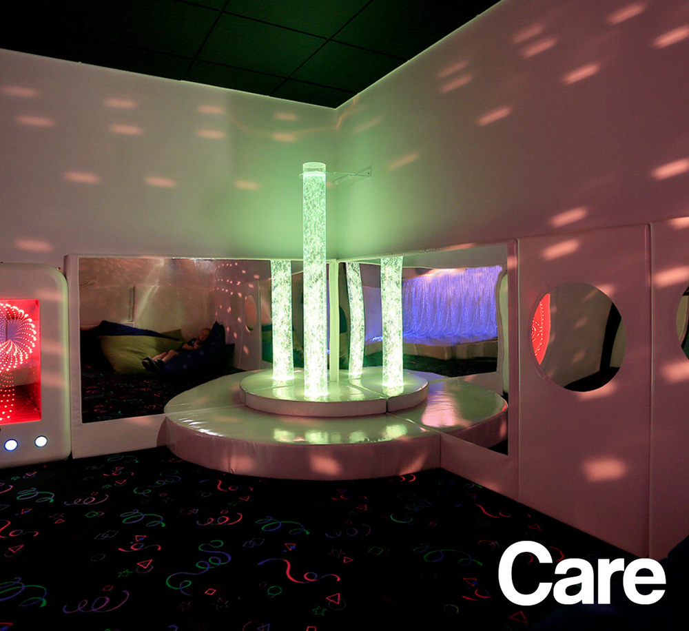 Bespoke, soft, safe and secure sensory experiences