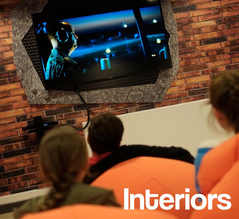 Comprehensive entertainment centre interior design and build service