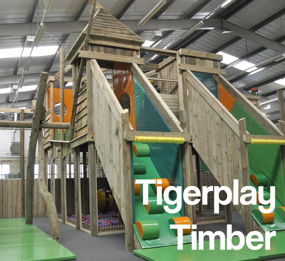 Bring the outside in with our new timber-soft play fusion