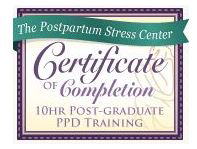 Postpartum-stress-center-certification