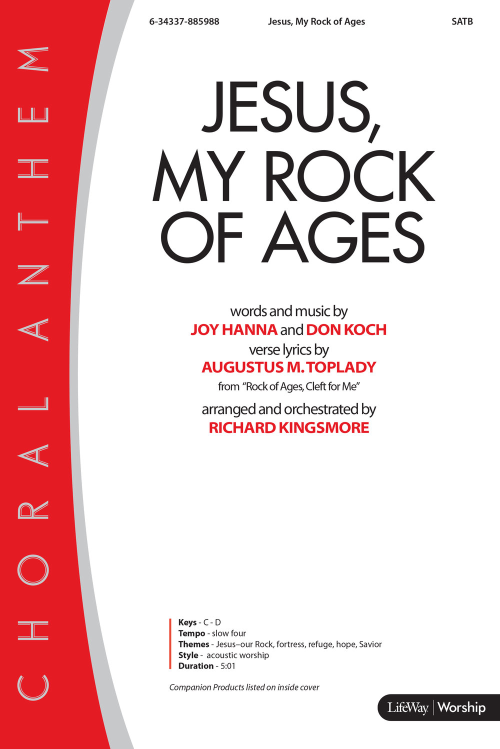 Jesus My Rock of Ages - Richard Kingsmore