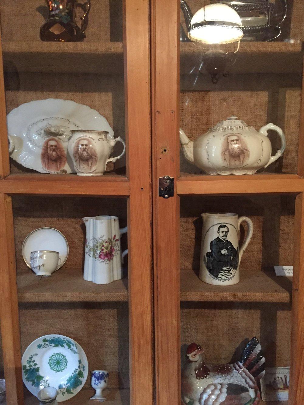 Welsh settler pottery