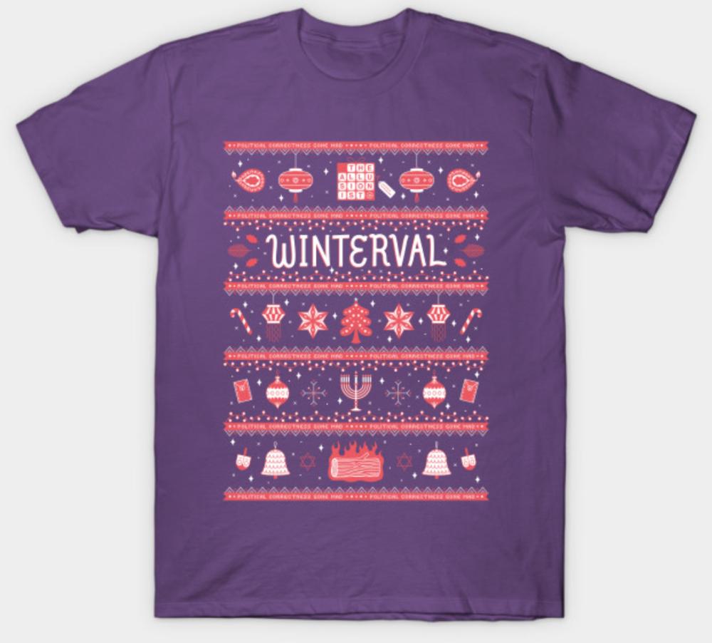 Winterval purple short sleeve