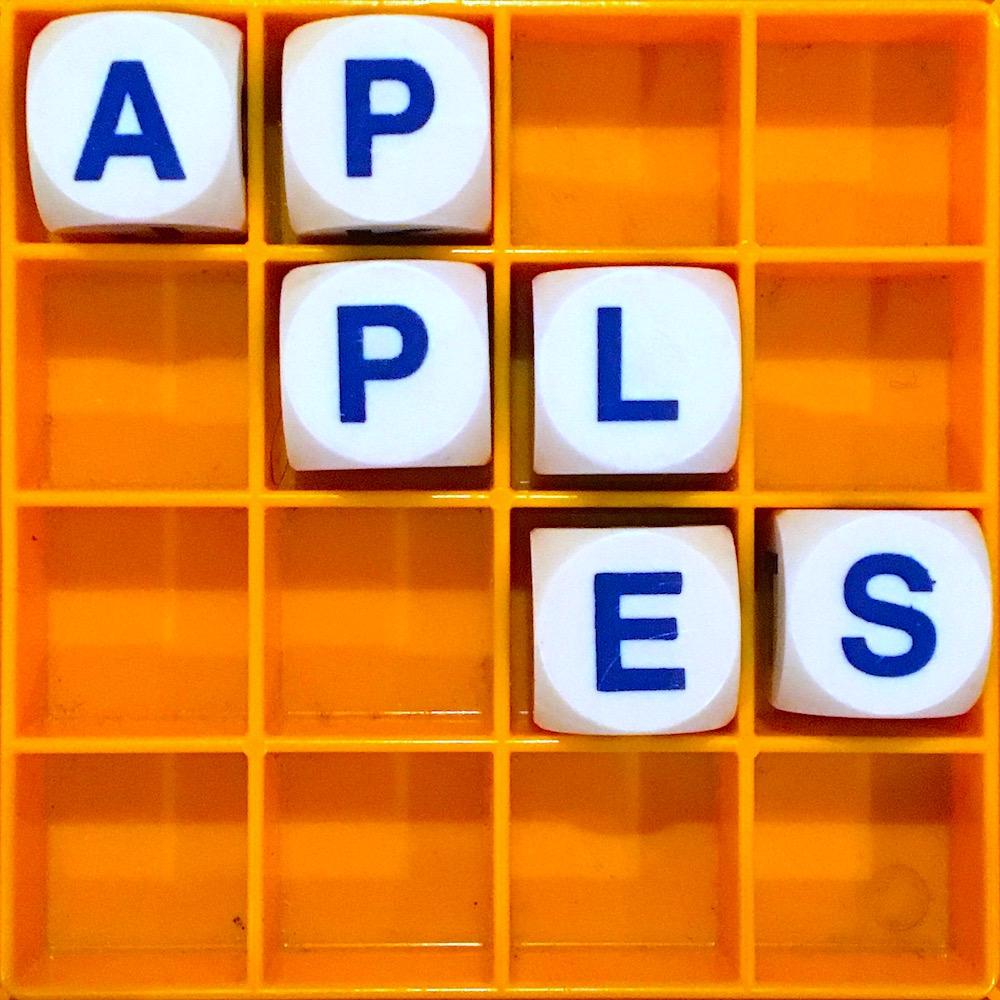 Allusionist 107. Apples