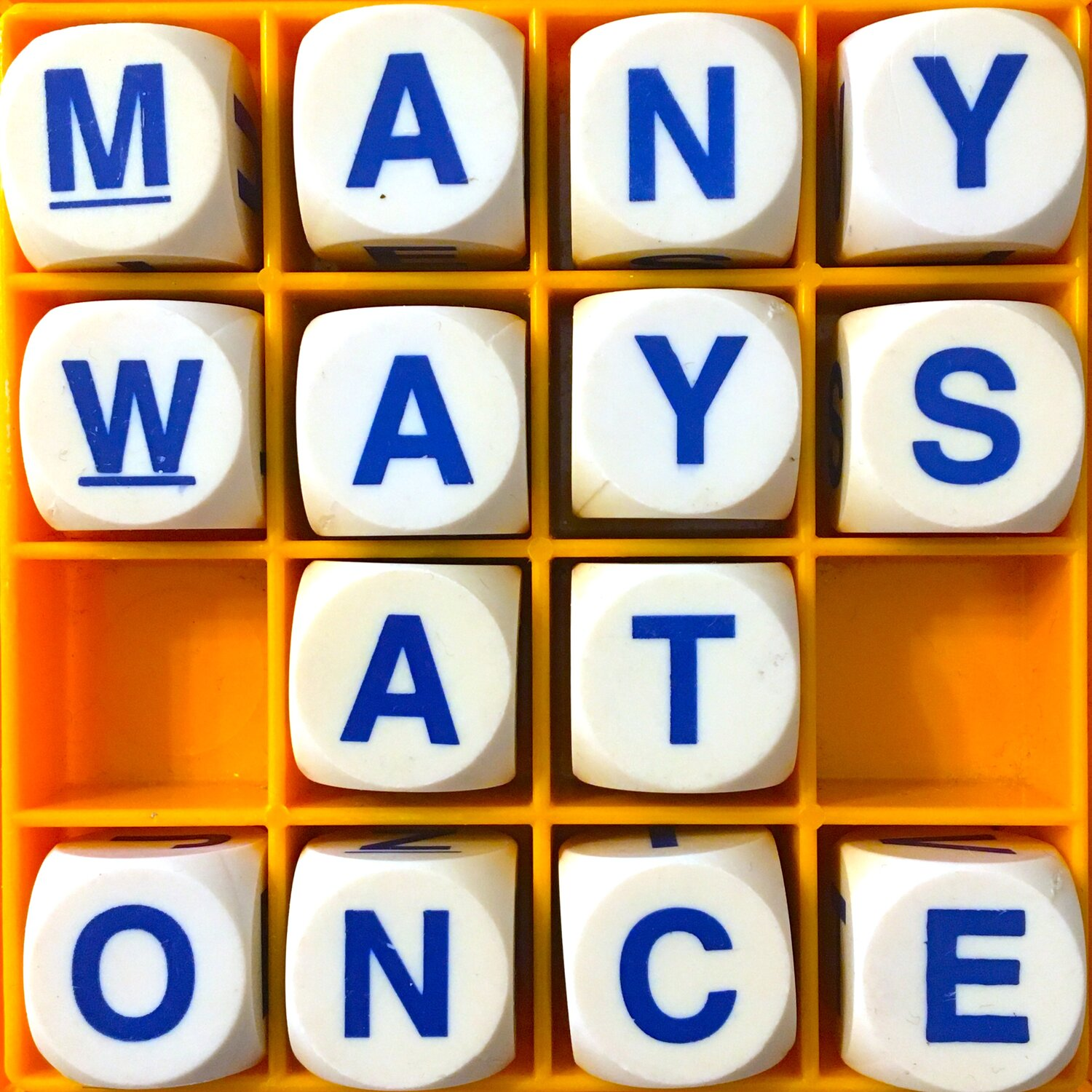 Allusionist 117. Many Ways At Once