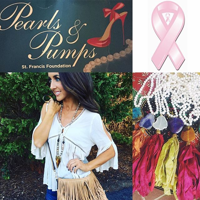 I am so excited and humbled to be a part of Pearls and Pumps coming up this Tuesday on Oct 4th at the TD Convention Center. I will be featuring the Julie Mayer Collection at my booth from 4:30pm-6:30pm. Come check out the latest arrivals and fabulous new fall finds. This event is for a wonderful cause and I hope to see you all there! #pearlsandpumps #fall #jewelry #accessories