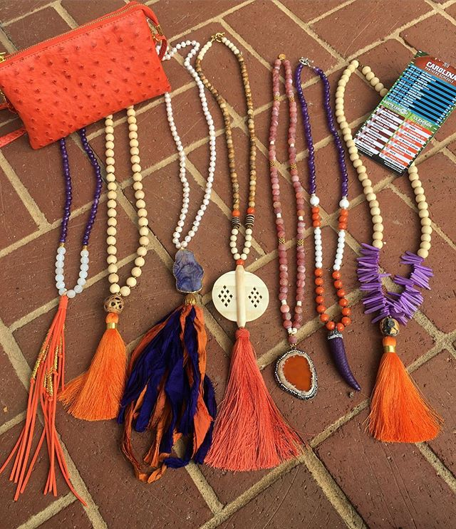 Clemson gals...here are some fabulous new arrivals for you!