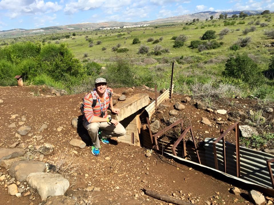 Bunker Leftover from Lebanon War