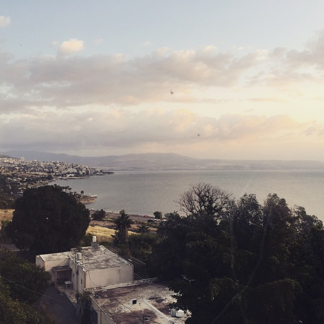 Sea of Galilee from Royal Plaza Hotel