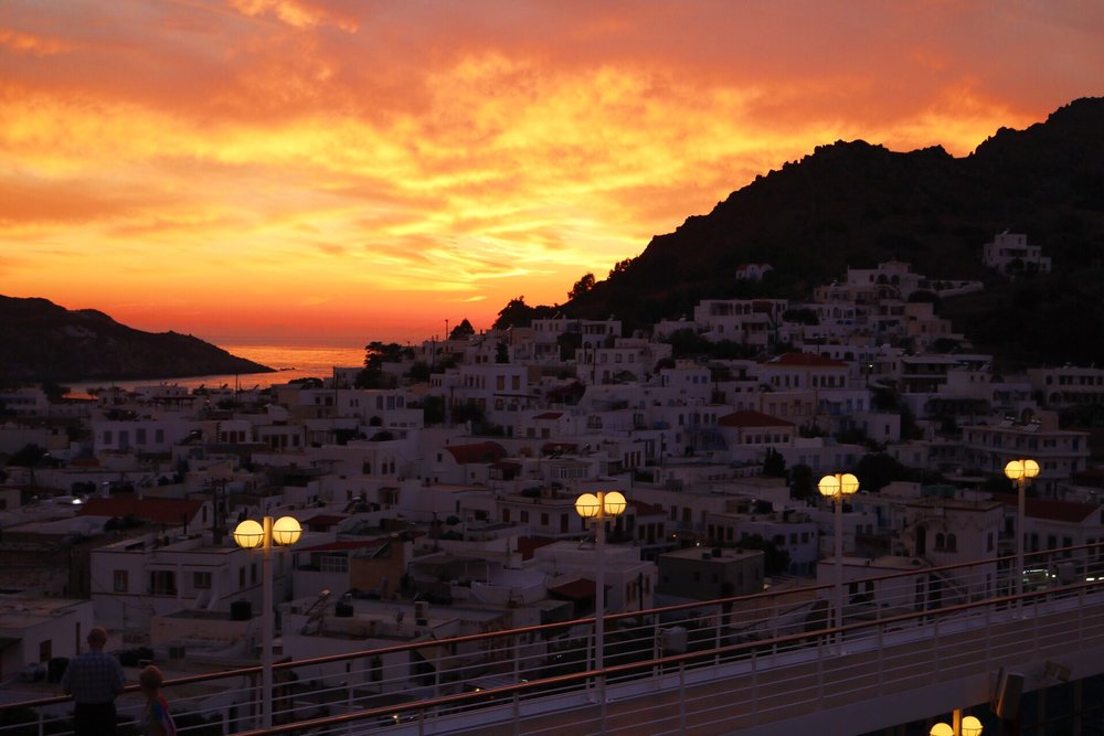 A Sunset in Patmos