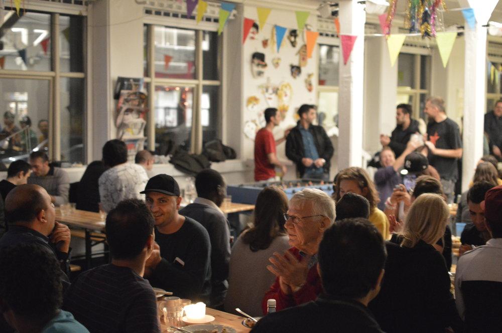 Community café by Mikkel Hørlyck