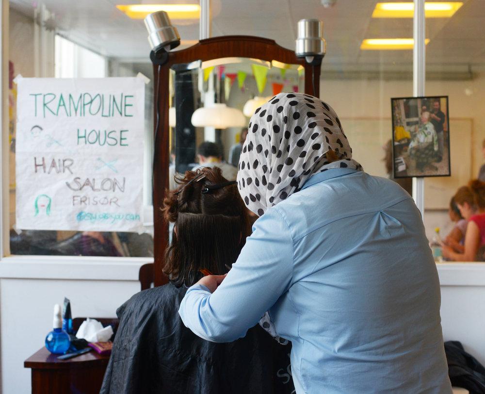 Hair salon by Anna Emy
