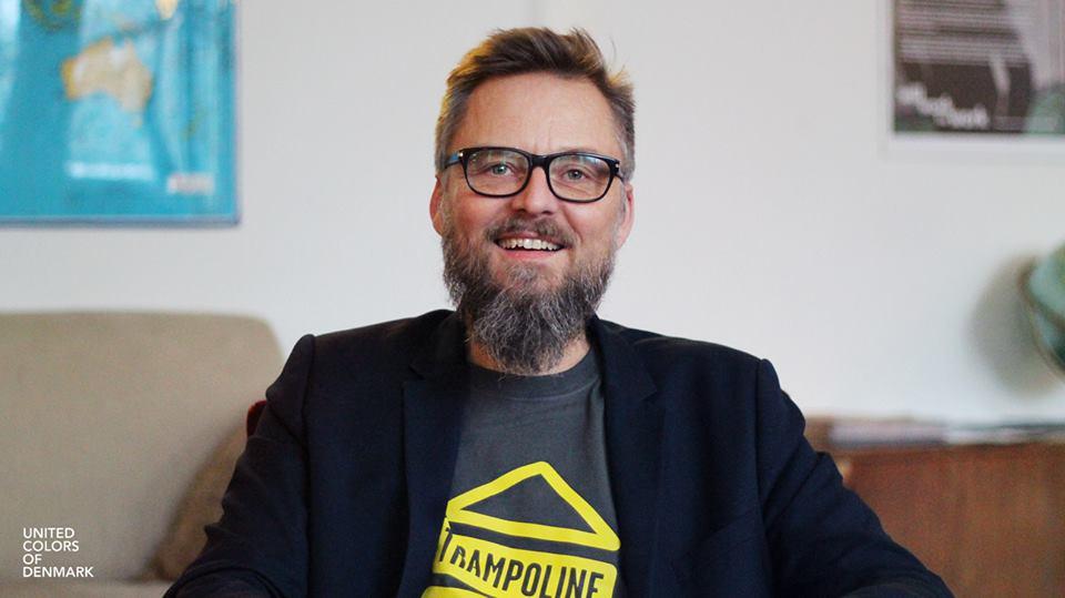 Morten Goll, Founder & Director of Trampoline House. Photo: Asim Iqbal, United Colors of Denmark