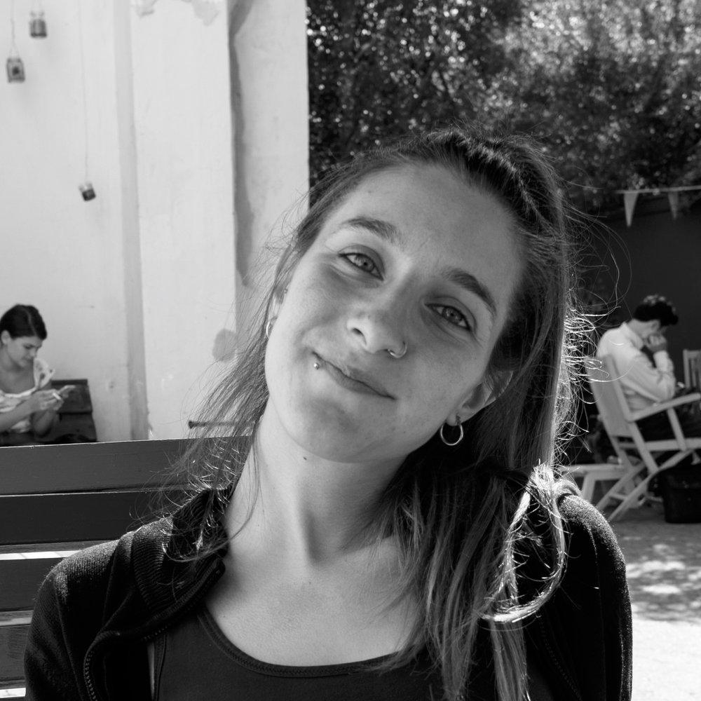 Aristea Gaitani  Administrator & koordinator for frivillige og universitets-praktikanter (+45) 52 69 23 52  aristea @trampolinehouse.dk